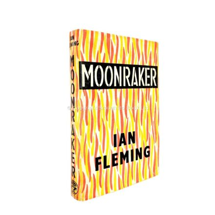 Moonraker by Ian Fleming First Edition Jonathan Cape 1955